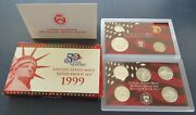 2009 United States Mint 9pc Silver Proof Set With Box And Coa