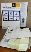 South Bend Lathe Inc - Lathe Accessories Catalog + Other Paperwork