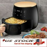 4.2qt Air Fryer Oven Electric Oilless 1400w Touch Screen Pizza Meat Chips Fryer
