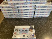 2019 Topps Clearly Authentic Box 1 Auto Factory Sealed Tatis Jr. Vlad Jr.