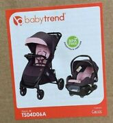 Baby Trend Tango Travel System Pink