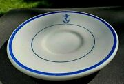 Us Navy Mess Wardroom Officer Saucer For Demitasse Cup By Tepco