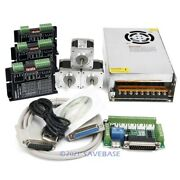 Cnc Kit 3 Axis Nema16 40oz-in Stepper Motor 24v Psu For Mill/router/engraving