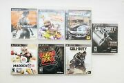 Lot Of 6 Playstation 3 Ps3 Games - Remember Me, Little Big Planet 3 +