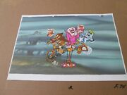 Frankenberry Count Chocula And Booberry Cel With Cereal Boxes 1973 Large Images