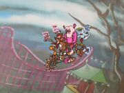 Frankenberry Count Chocula And Booberry Cel With Cereal Boxes 1973