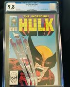Incredible Hulk 340 Cgc 9.8 Perfect Spine And Centering