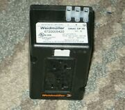 Weidmuller 6720005420 Ac Power Receptacle 20a 125v, Din Rail Mount, Black New