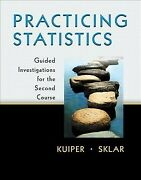 Practicing Statistics Guided Investigations For The Second Course Paperbac...