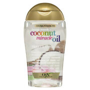 Ogx Extra Strength Coconut Miracle Oil Penetrating Oil 100ml Bottle Hair Care