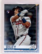Austin Riley 2019 Topps Update Us100 Father's Day Powder Blue Rookie Rc 29/50