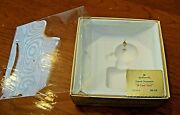 1980 Hallmark Frosty Friends Box And Tag Only 1st In Series A Cool Yule Ornament