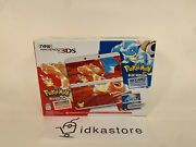 New Nintendo 3ds Pokemon 20th Anniversary Red And Blue Edition Console