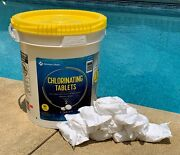Same Day Shipping Sams Club Members Mark 3 Chlorine Tablets 5 Pounds 10 Tabs