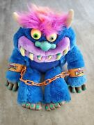 My Pet Monster Doll W/ Handcuffs - Large Item Vintage  Rare