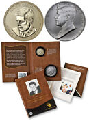 2015 Coin And Chronicles Commemorative Set John Kennedy 2 Pc Set In Mint Packaging