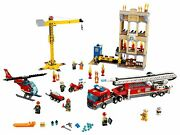 Lego 60216 City Downtown Fire Brigade Join Excitement With Fire Rescue Heroes