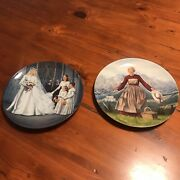 The Sound Of Music Vintage Collector Plates 2