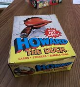 Topps 1986 Howard The Duck Trading Cards - 36 Packs - Free Shipping