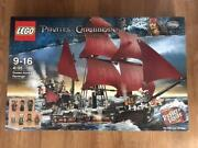 Lego 4195 Pirates Of The Caribbean Queen Anne's Revenge 1094 Pieces 2011