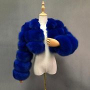 Cropped Fur Coat Womanand039s Real Fox Fur Coat Short Style Fashion Women Real Fur Ja