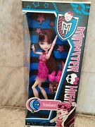 Rare New Monster High Draculaura Dead Tired Box In Great Condition