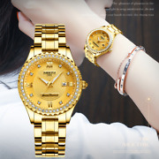 Nibosi Women Watches Top Brand Luxury Gold Ladies Watch Stainless Steel Band Cl