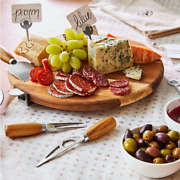 Pampered Chef Premium Charcuterie And Cheese Board Set Free Shipping