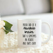 Airedale Terrier Cup Airedale Terrier Gifts Gifts For Airedale Terrier Lover Dad