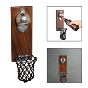 Bottle Opener W/ Catcher Wall Mounted Creative Kitchen Tools Drinking