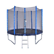 10ft Trampoline Combo Bounce Jump Safety Enclosure Net W/spring Pad Ladder For K
