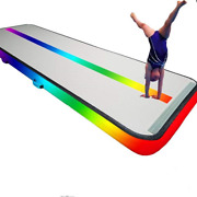 13ft/16ft/20ft/23ft/26ft Inflatable Air Gymnastics Mat Training Mats 4/8 Inches