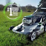 Ego 21 In. 56-volt Cordless Battery Lawn Mower W/ 5.0 Ah Battery Rapid Charger