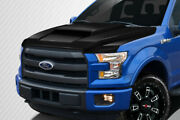 Carbon Creations Grid Hood - 1 Piece For 2015-2018 F-150