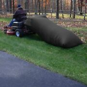 Leaf Bagger Grass Catcher 54 Cubic Feet Capacity Lawn Tractor Collector Black