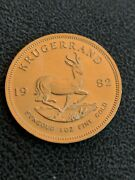 1 Oz South African Krugerrand Gold Coin Bu See Scans