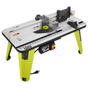 Ryobi Universal Router Table 5 Throat Plates Integrated Vacuum Port Compatible
