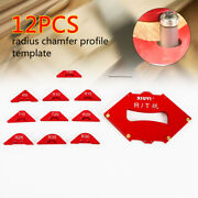 12x Wood Panel Radius Jig Router Table Bits Jig Corner Templates And Wrench Sale