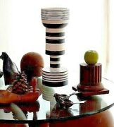 Ettore Sottsass Calice Vase Pottery Bitossi Memphis Made In Italy