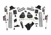 Rough Country 4.5 Suspension Lift Kit 11-14 F-250 Sd 4wd Diesel 53450