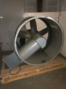 Acme Tubemaster Tubeaxial Model Ha48 7.5 Hp 5 Blade Fan Very Good Condition Used