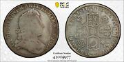 1715 Great Britain 1/2 Half Crown S-3642 Tvtamennno Roses And Plumes Pcgs F12