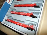 Athearn Ho 15593 Southern Pacific Maxi Well Cars In Original Box...
