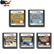 Heart Gold Soul Silver Platinum Game Card For New 3ds Xl Ndsi Nds Lite Pokemon