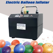 Electric Balloon Pump 120w Balloon Inflator Copper Nozzle Air Blower For Party