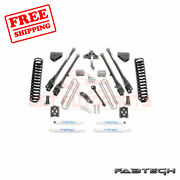 Fabtech 6 4 Link System W/ Shocks For Ford F350 4wd 2005-07