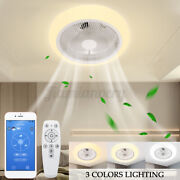 Shintur 80w Ceiling Fan Light App And Remote Control Led Lamps Dimmable