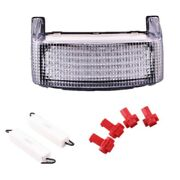 For Honda Cbr600 F2 F3 1991-1996 Led Integrated Turn Signal Tail Light Clear