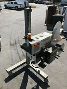 Weber Label Print And Applicator Industrial Equipment, Used Obo