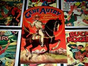 Gene Autry Cowboy Adventures To Color Merrill 1941 Near Mint Gem 70 Years Old
